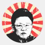 Kim Jong Il Stickers