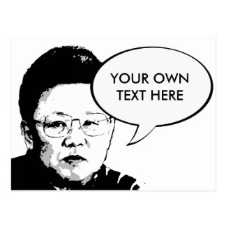 Kim Jong Il Postales