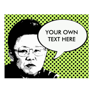 Kim Jong Il Tarjetas Postales