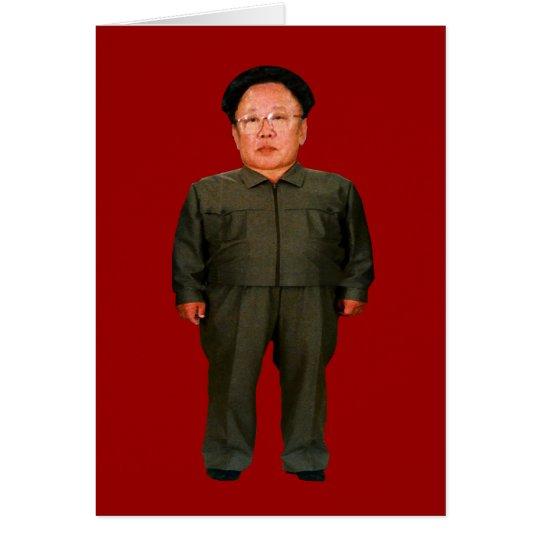Kim Jong illin' Card