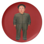 Kim Jong illin' Dinner Plates