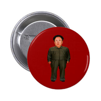 Kim Jong illin' Pinback Button