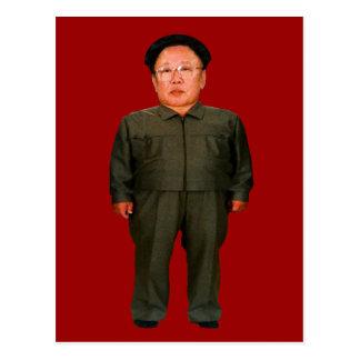 Kim Jong illin' Postcard