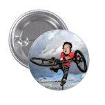 Kim Jong-ils BMX -Pin Buttons