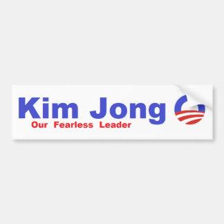 Kim Jong O Pegatina Para Auto