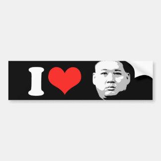 Kim Jong Un Car Bumper Sticker