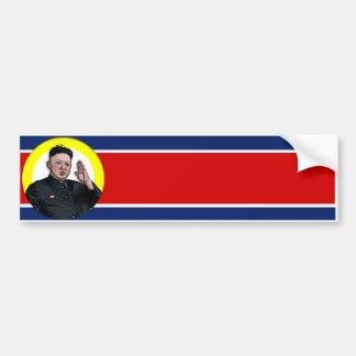 Kim Jong Un bumper sticker