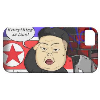 Kim Jong Un i-Phone Case iPhone 5 Cárcasas