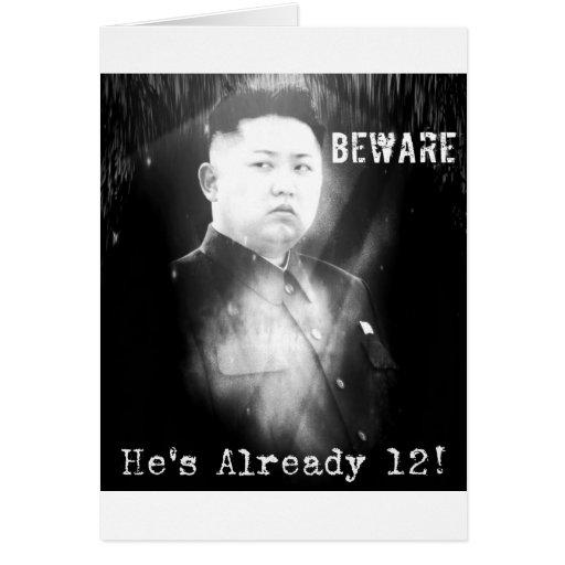 Kim Jong-un Joke Card