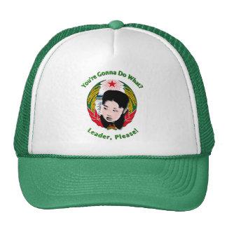 Kim Jong Un - Leader, Please! Trucker Hat