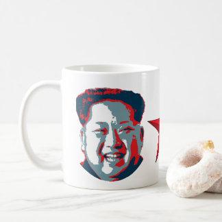 Kim Jong-un North Korea Coffee Mug