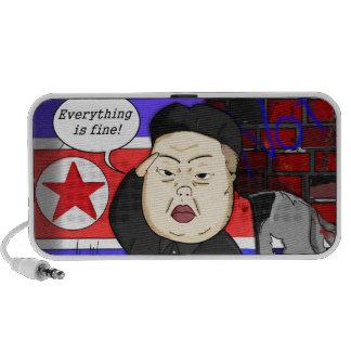Kim Jong Un, North Korea, Dictator, Korea, Funny, iPod Speaker
