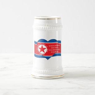 Kim Jong un Quote Trump Kim Summit North Korea USA Beer Stein
