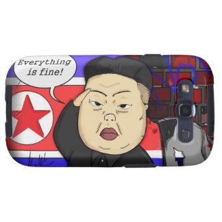 Kim Jong Un Samsung Galaxy S3 Case Galaxy S3 Fundas