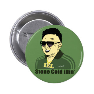 Kim Jung Il Button