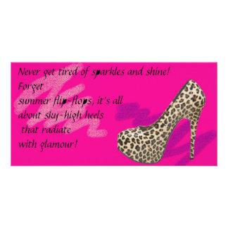 Kim Kardashian Style Pumps Card