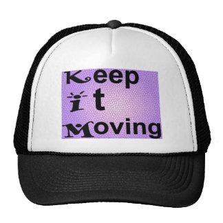 Kim Keep it Moving Trucker Hat
