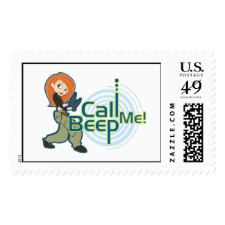 Kim Possible Call Me Beep Disney Postage