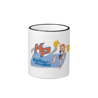 Kim Possible Cheeleading Disney Ringer Coffee Mug