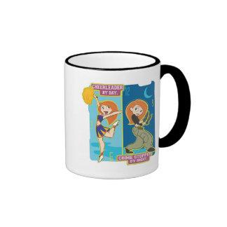 Kim Possible Crimestopper by Night Disney Ringer Coffee Mug