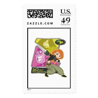 Kim Possible Disney Postage Stamp