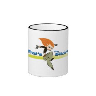 Kim Possible Disney Ringer Coffee Mug