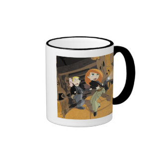 Kim Possible exploring with flashlight Disney Ringer Coffee Mug
