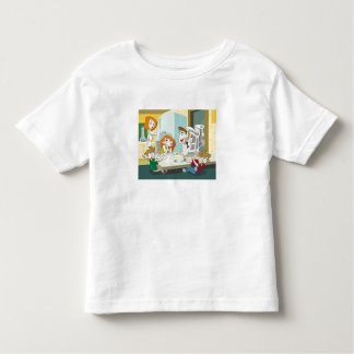 Kim Possible family breakfast twins food fight Toddler T-shirt