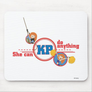Kim Possible Kim Possible logo Disney Mouse Pad