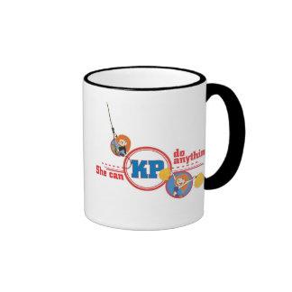 Kim Possible Kim Possible logo Disney Ringer Coffee Mug