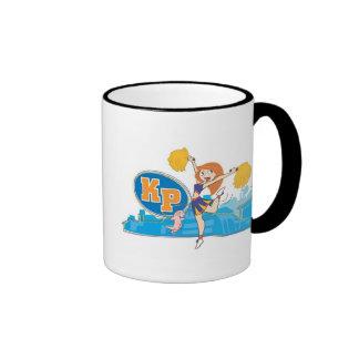 Kim Possible Kim Possible Rufus  Disney Ringer Coffee Mug