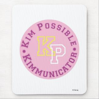 Kim Possible KP Kimmunicator logo Disney Mouse Pad