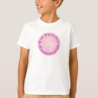 Kim Possible KP Kimmunicator logo Disney T-Shirt