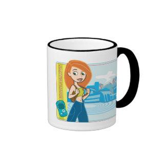 Kim Possible Mimmunicator Disney Ringer Coffee Mug