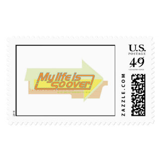Kim Possible: My Life Is So Over Text Disney Postage