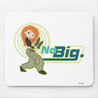 """Kim Possible """"No Big"""" Disney Mouse Pad"""