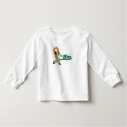 "Kim Possible ""No Big"" Disney Toddler T-shirt"