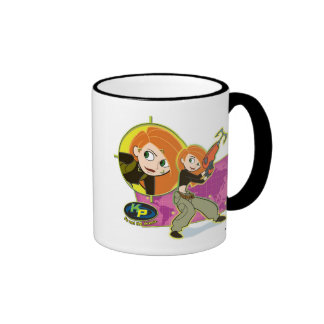 Kim Possible ready for action Disney Ringer Coffee Mug