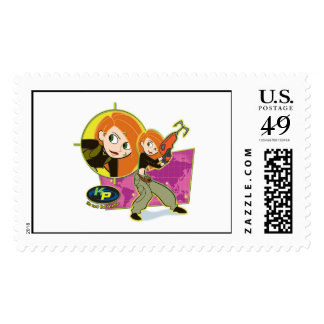 Kim Possible ready for action Disney Stamp