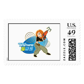 """Kim Possible """"She Can do Anything"""" Disney Postage"""
