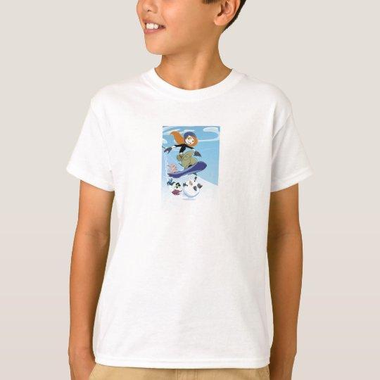 Kim Possible Snowboarding Disney T-Shirt
