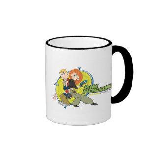 Kim Possible's Characters Disney Ringer Coffee Mug