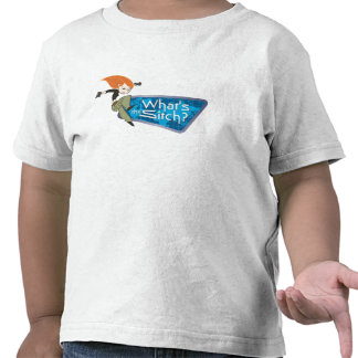 "Kim Possible's Kim ""What's the Sitch?"" Disney T-shirts"