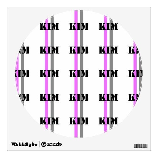 Kim Wall Sticker