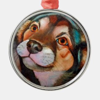 Kimba mezcla de Terrier del pastor Ornamento Para Reyes Magos