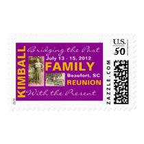 Kimball Family Reunion Postage Stamp