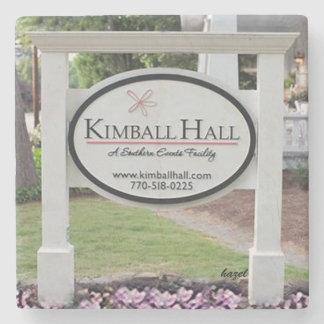 Kimball Hall Sign, Historic Roswell, Ga. Coaster
