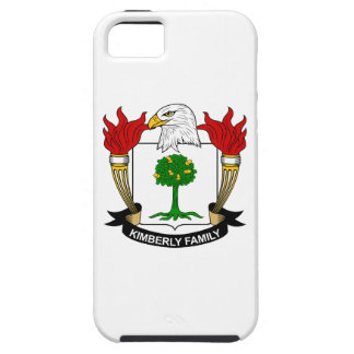 Kimberly Family Crest iPhone 5 Cover