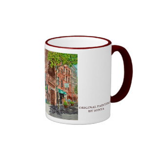 KIMBERLY JPEC, KIMBERLY, ORIGINAL PAINTINGBY SONYA COFFEE MUG