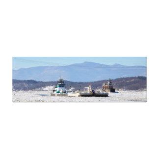 Kimberly Poling northbound at Hudson Canvas Print
